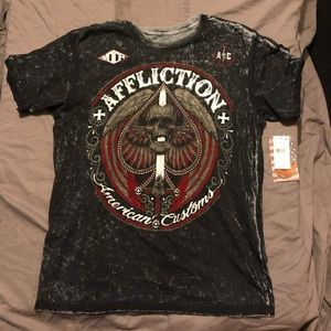 Affliction reversible T-shirt